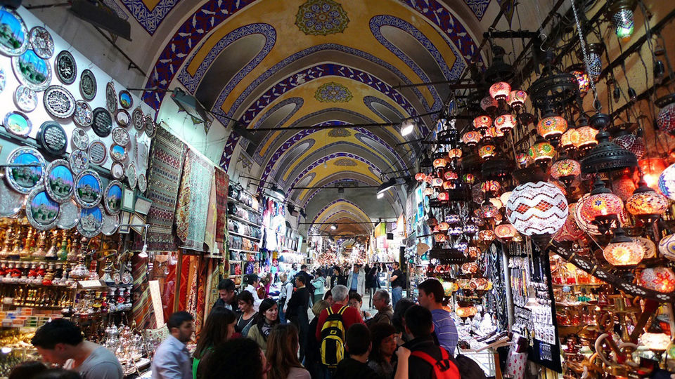 Istanbul Layover Tour Grand Bazaar